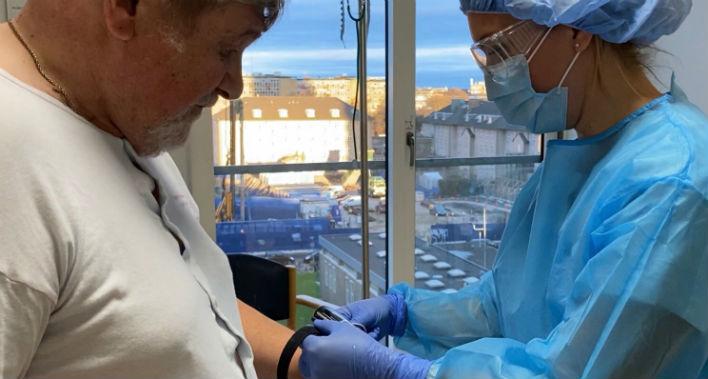 Intelligent alarmsystem hjælper danske patienter med COVID-19